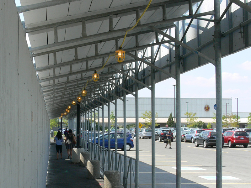 Covered Walkway Construction : Covered walkways the fence people